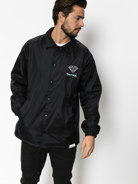 Diamond Supply Co. Jacke Og Sign Coach (black)