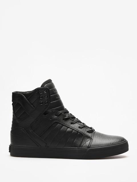 Supra Schuhe Skytop (black/black red)