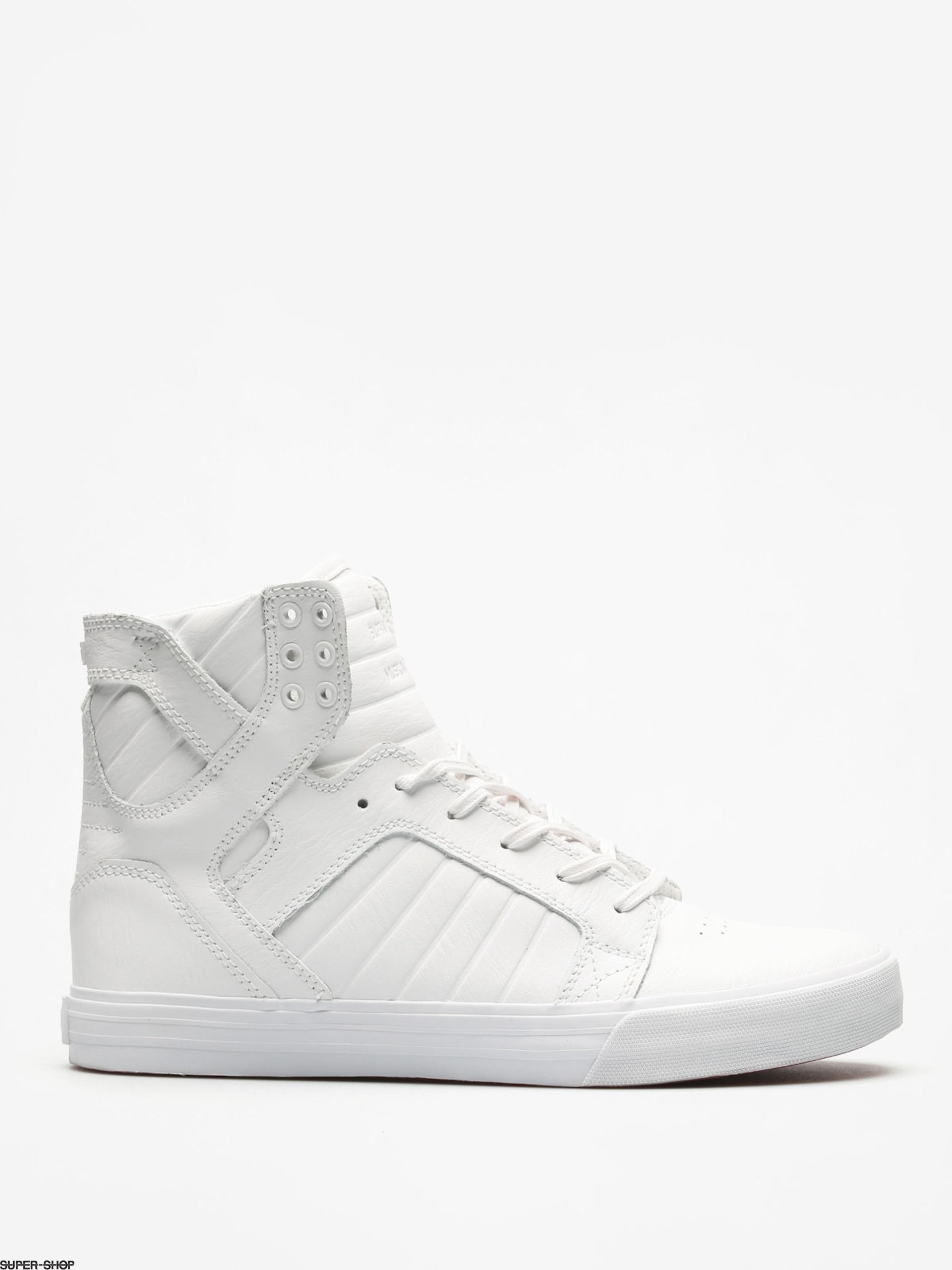 Supra Shoes Skytop (white/white red white)