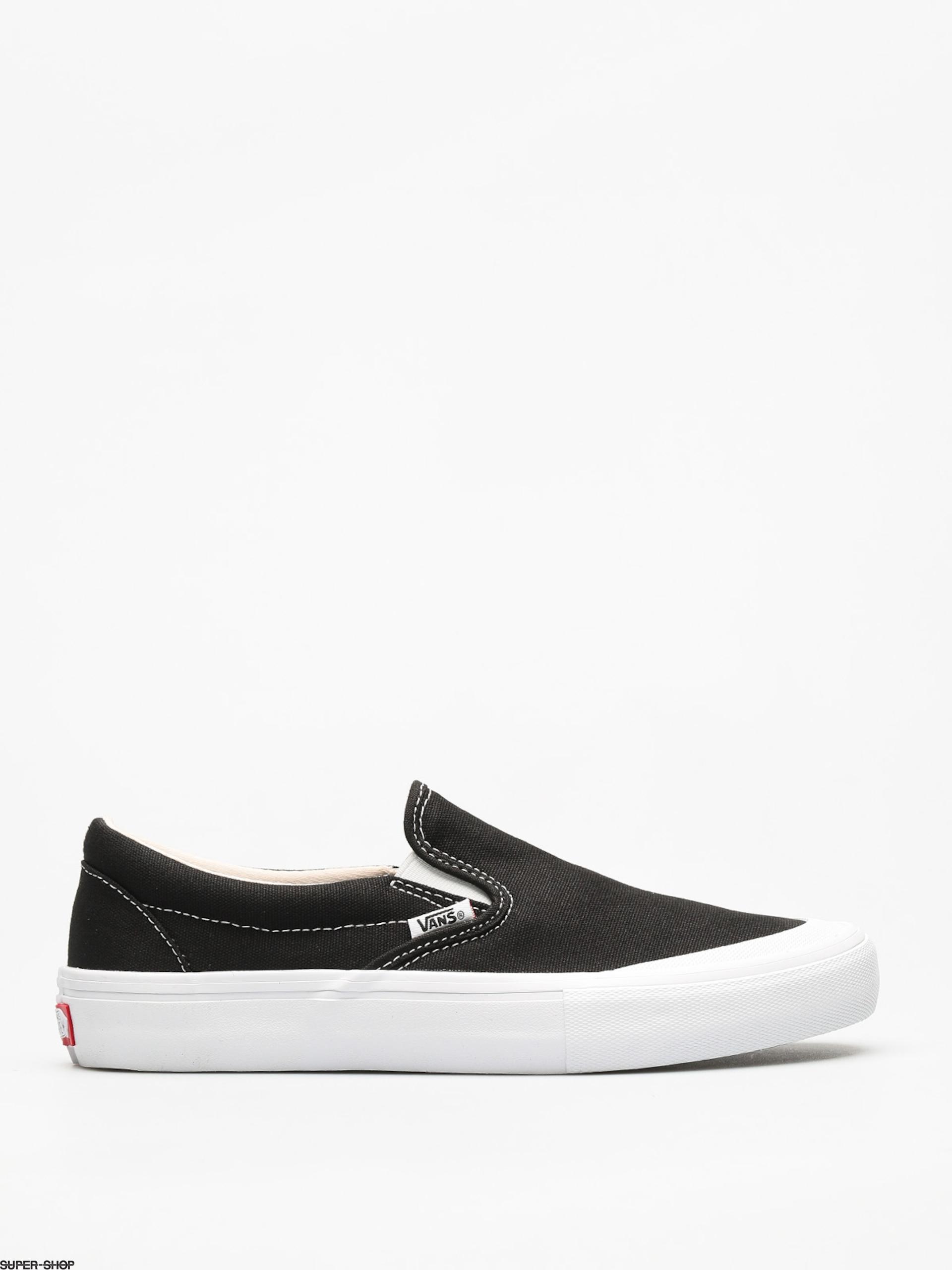 Vans Shoes Slip On Pro (toe cap/black