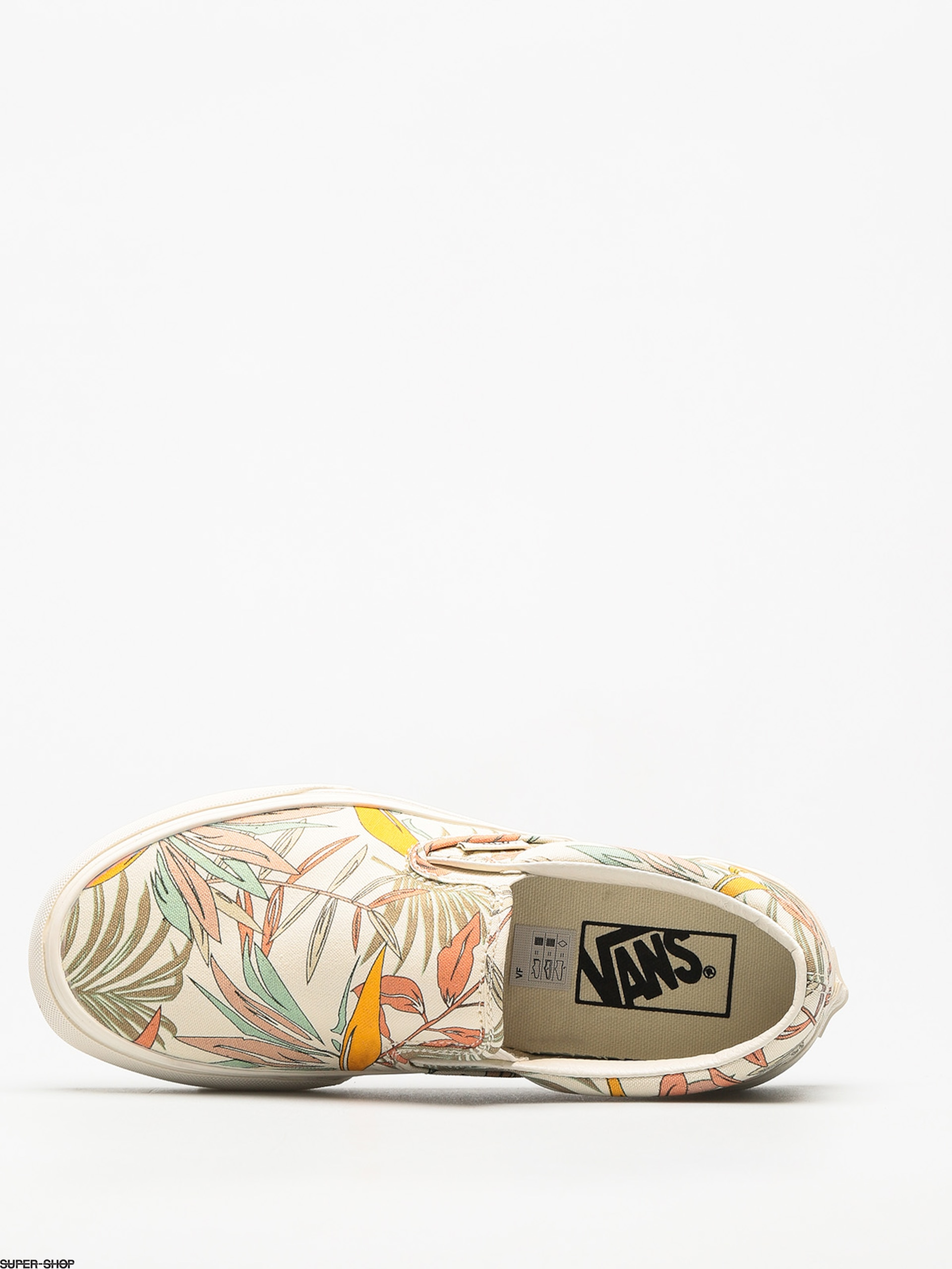 df20af1923ce54 Vans Shoes Classic Slip On (california floral marshmallow marshmallow)