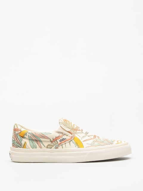 Vans Shoes Classic Slip On (california/floral/marshmallow/marshmallow)