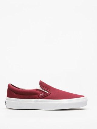 Vans Schuhe Classic Slip On (mono/canvas/cabernet)