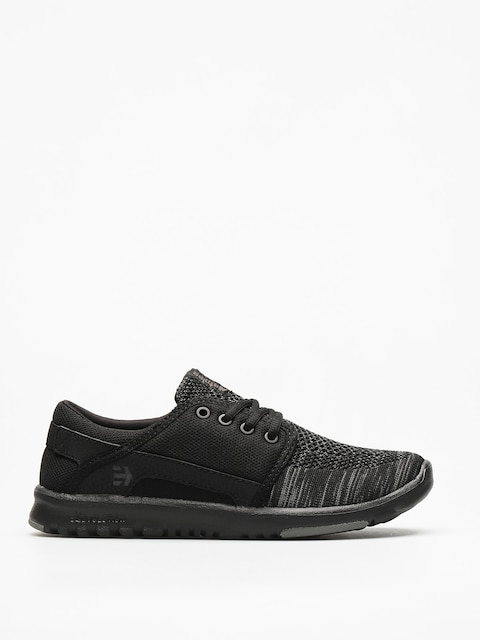 Etnies Shoes Scout Yb Wmn (black/grey/black)