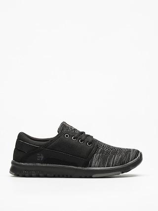 Etnies Shoes Scout Yb Wmn (black/grey/black)
