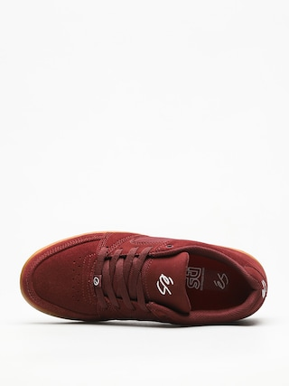pretty nice 0fc23 a290f Es Schuhe Accel Slim (burgundy/gum)
