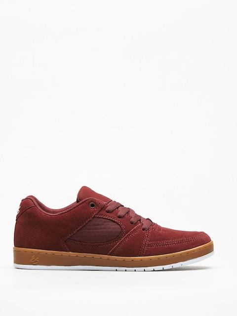 Es Schuhe Accel Slim (burgundy/gum)