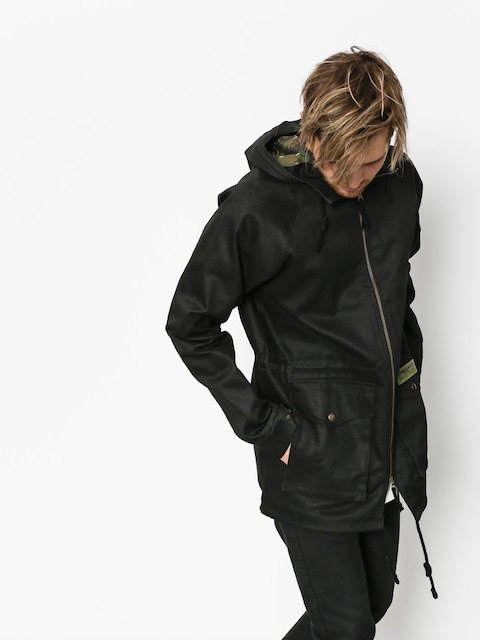 Turbokolor Jacket Parka Deck Crew (black)