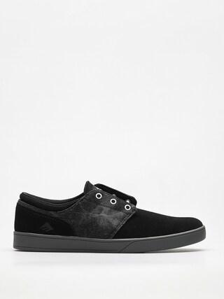 Emerica Shoes The Figueroa (black/grey/silver)