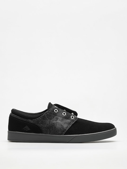 Emerica Schuhe The Figueroa (black/grey/silver)