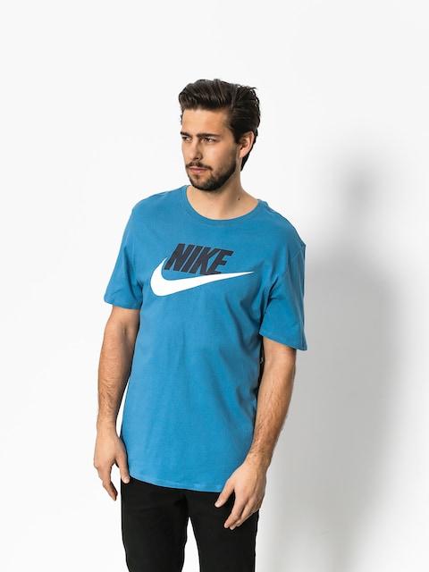 Nike T-Shirt Futura Icon (aegean storm/white)