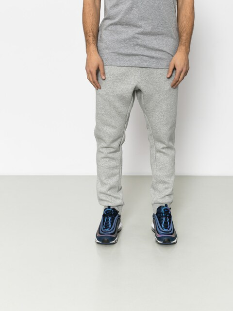 Nike Pants Club Jogger (dk grey heather/white)