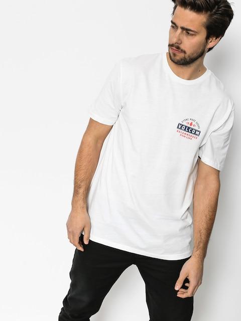 Volcom T-Shirt Barred Bsc (wht)