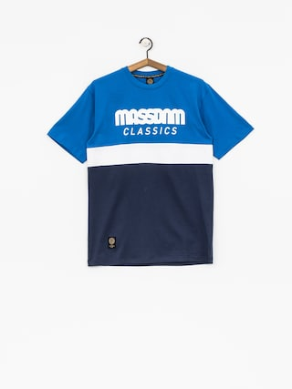 MassDnm T-Shirt Respect (blue/navy)
