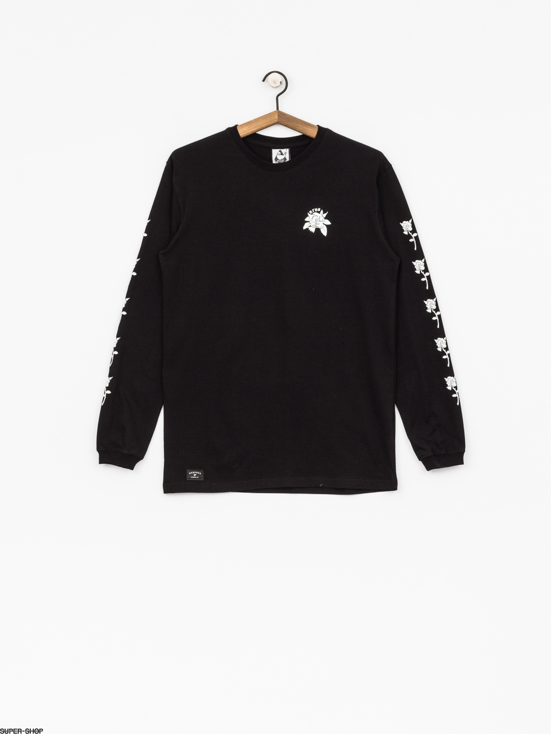 Nervous Longsleeve Rose (black)