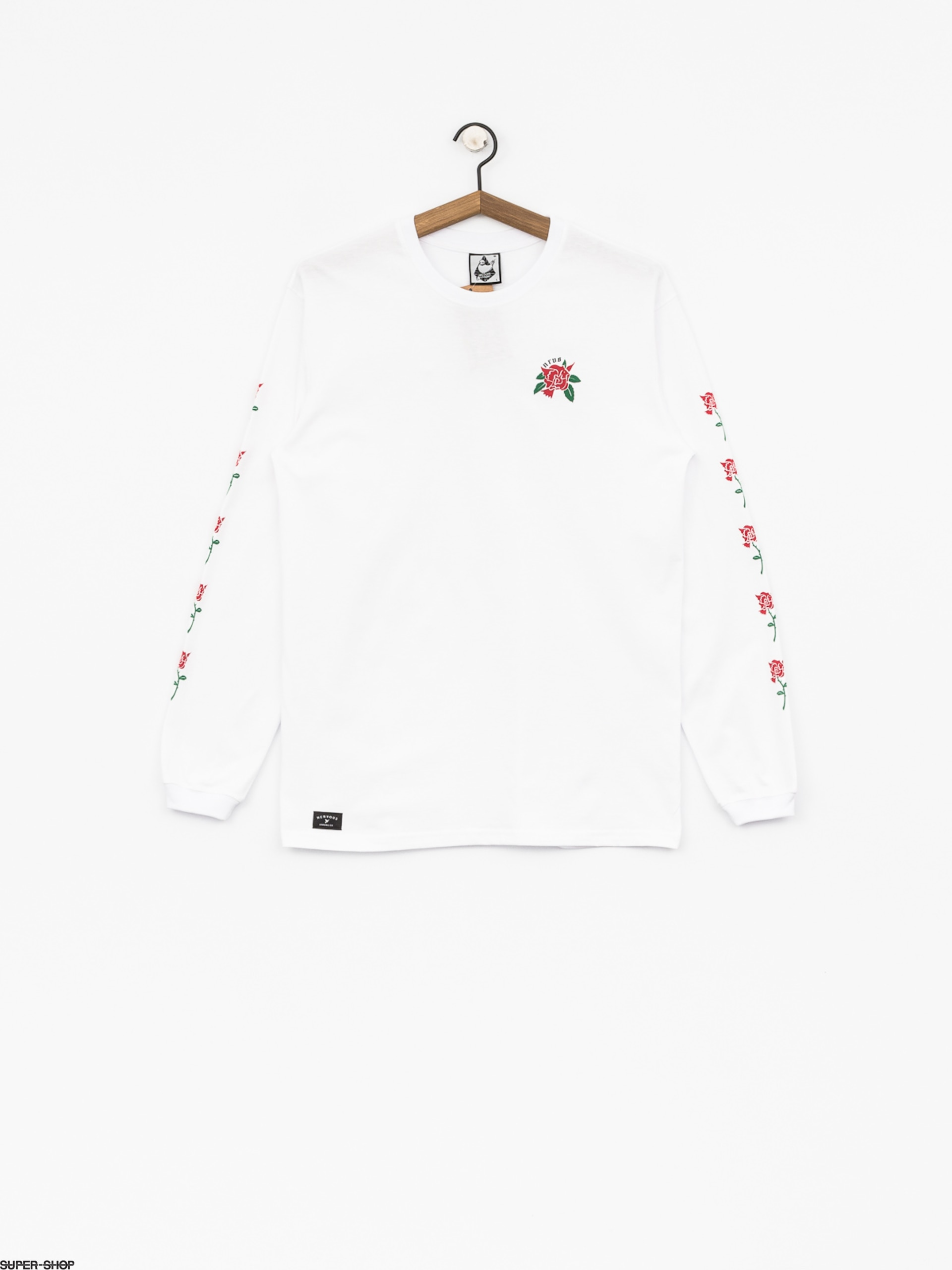 Nervous Longsleeve Rose (white)