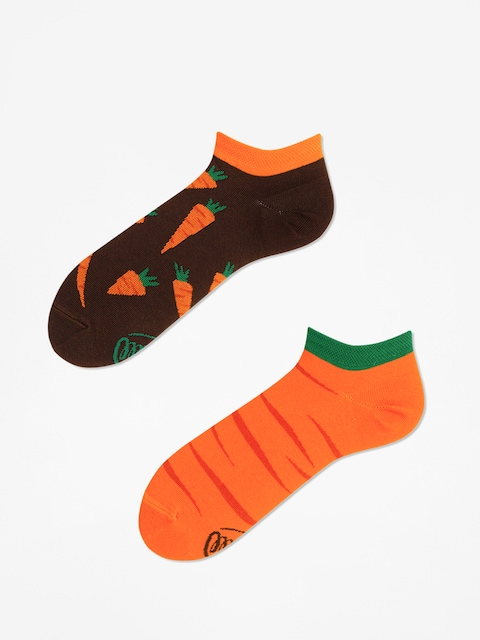 Many Mornings Socks Garden Carrots Low (orange/brown)