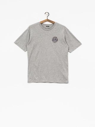 Brixton T-Shirt Rival II Stt (heather grey/red)