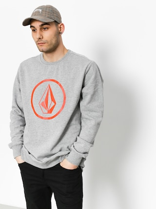 Volcom Sweatshirt Stone Crew (gry)