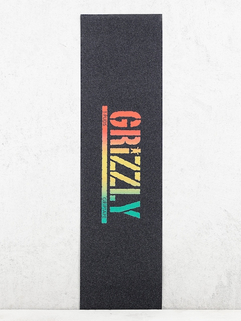 Grizzly Griptape Griptape T Puds Rusta Stamp (rasta)