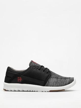 Etnies Shoes Scout Yb (black/dark grey/red)