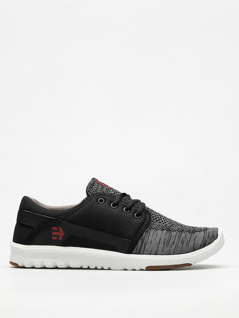 Etnies Schuhe Scout Yb (black/dark grey/red)