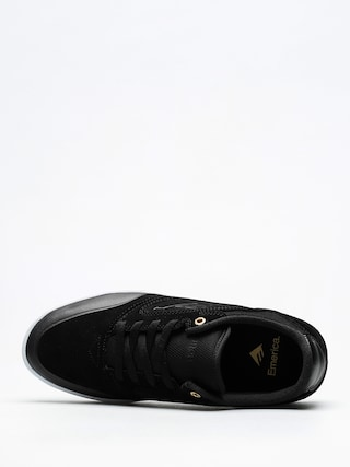 Emerica Shoes Dissent (black/white/gold)