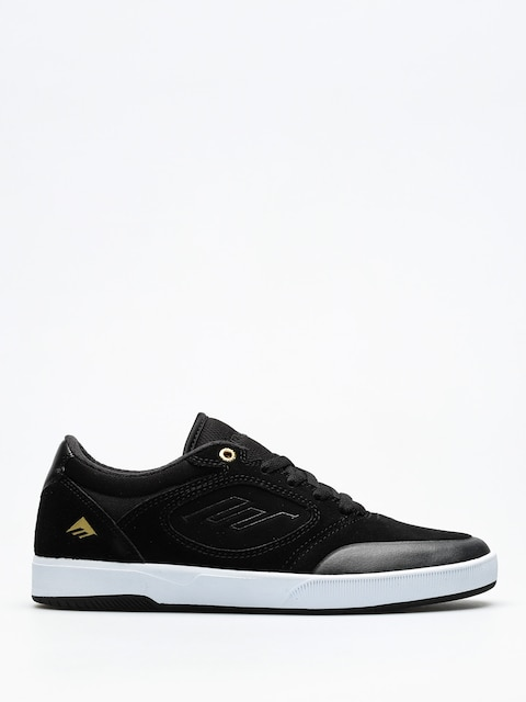 Emerica Schuhe Dissent (black/white/gold)