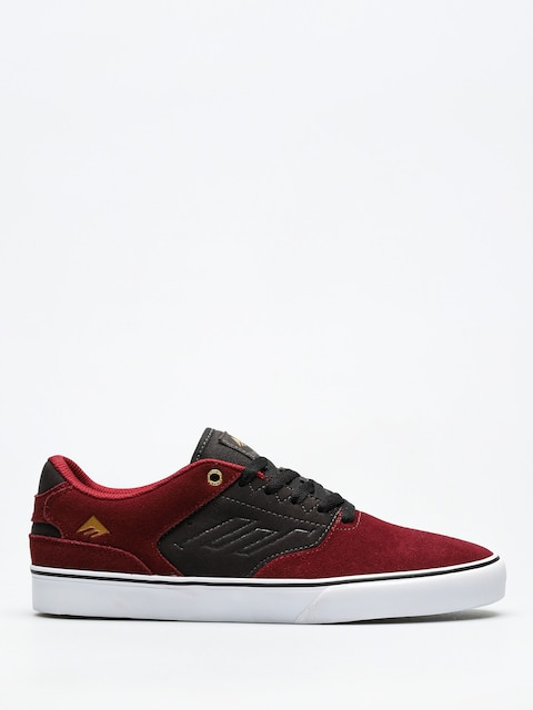 Emerica Shoes The Reynolds Low Vulc (red/grey)