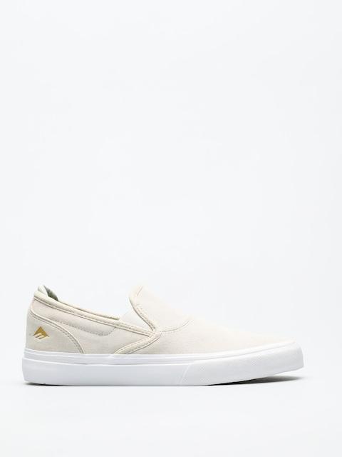 Emerica Shoes Wino G6 Slip On (white/white)