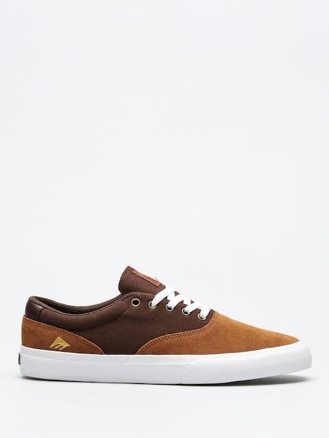 Emerica Shoes Provost Slim Vulc (tan/brown/white)