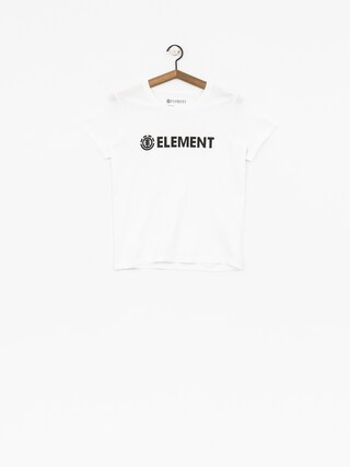 Element T-Shirt Logo Wmn (white)