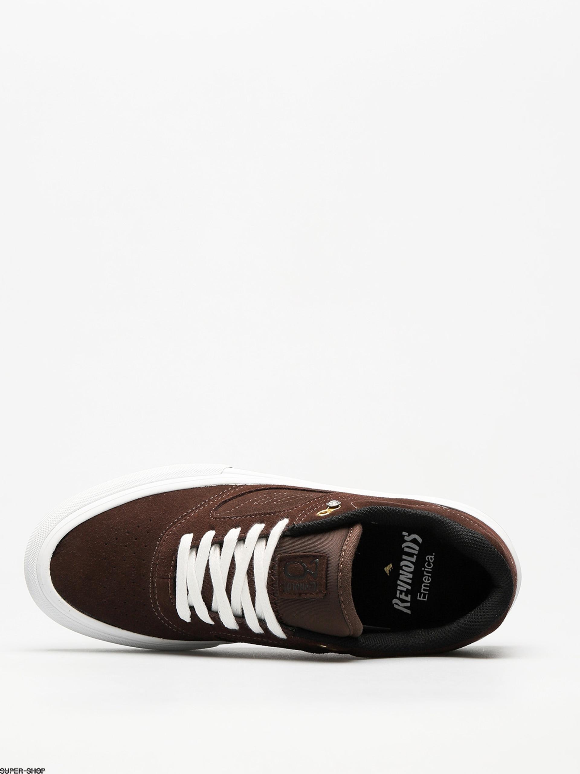Herrenschuhe Neueste Kollektion Von Emerica Tan Braun Reynolds 3 G6 Vulc Schuhe