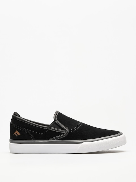 Emerica Shoes Wino G6 Slip On (black/grey/white)