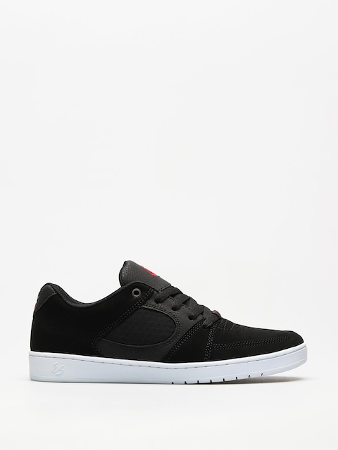 Es Schuhe Accel Slim (black/white/red)