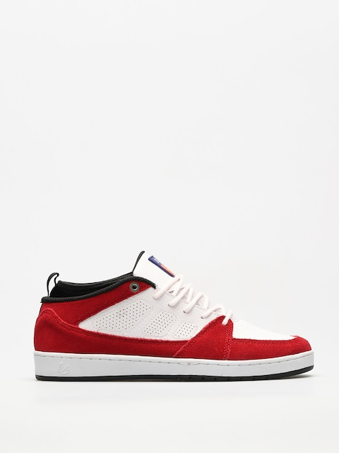 Es Schuhe Slb Mid (white/red)