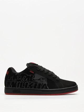 Etnies Shoes Metal Mulisha Fader (black/black/red)