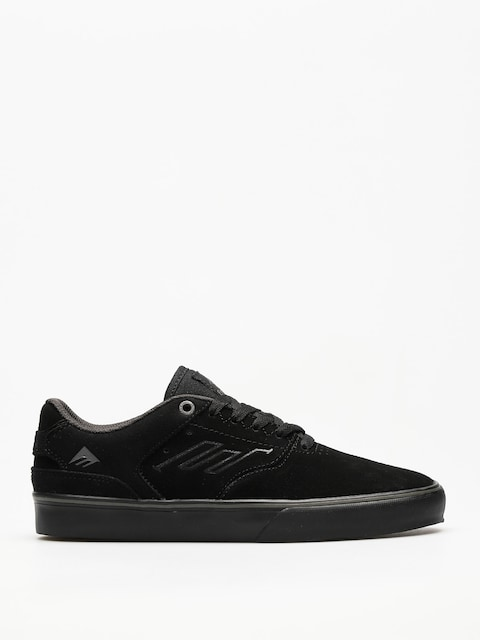 Emerica Shoes The Reynolds Low Vulc (black/black/grey)
