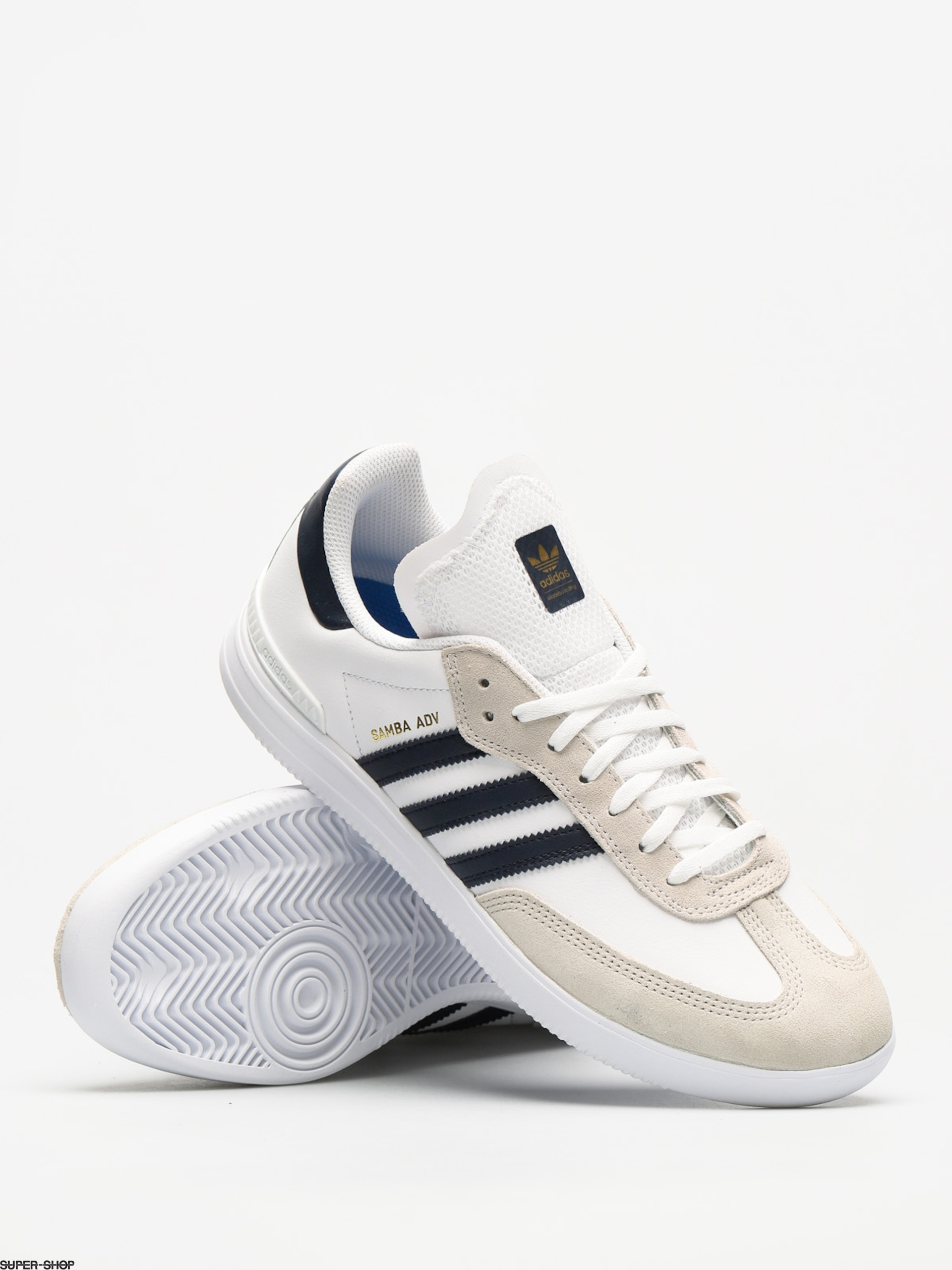 new product 87d7a 80f30 adidas Shoes Samba Adv (ftwr white collegiate navy gold met.)