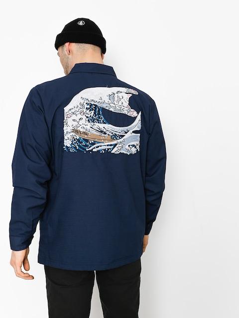 RipNDip Jacke Great Wave Military (navy blue)