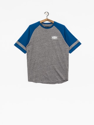 Brixton T-shirt Rockford Baseball (heather grey/royal)