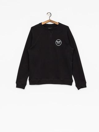 Brixton Sweatshirt Wheeler III Eu Crew (black/white)
