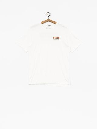 Brixton T-shirt Bodega Prt (off white)
