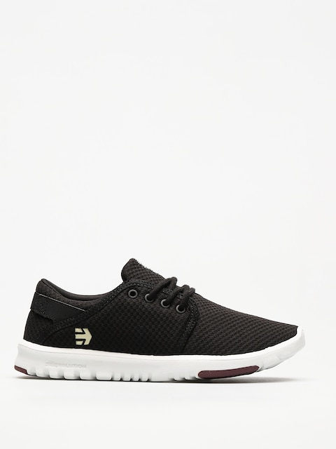 Etnies Shoes Scout Wmn (black/white/burgundy)