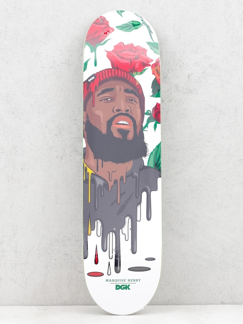 DGK Deck Quise Murked (white/red/black)