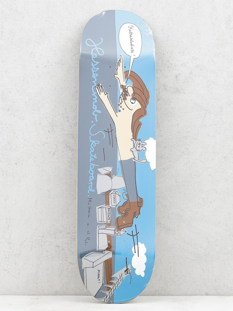 Mob Skateboards Deck Muehlheim (blue/grey)