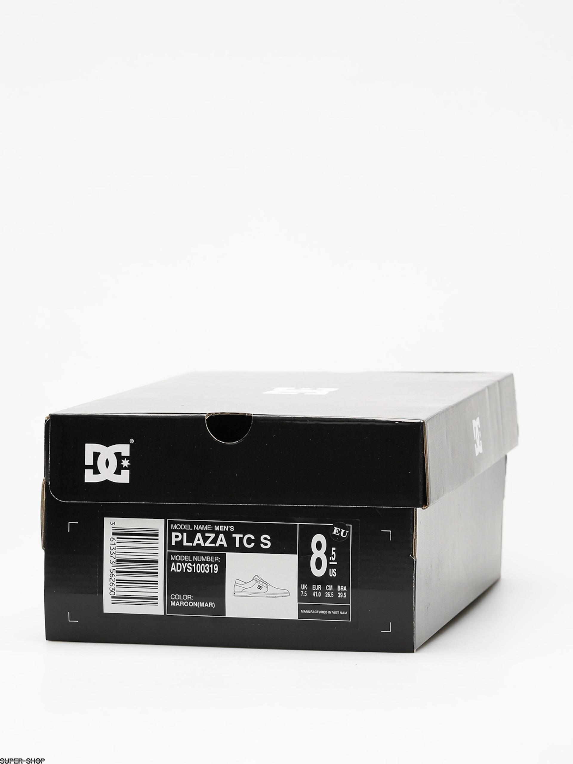 DC DC DC Schuhes Plaza Tc S (maroon) fb6a1d
