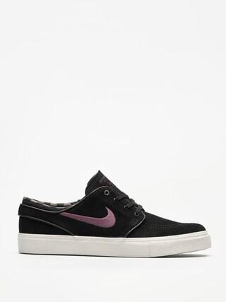 Nike SB Schuhe Zoom Stefan Janoski (black/pro purple ridgerock light bone)