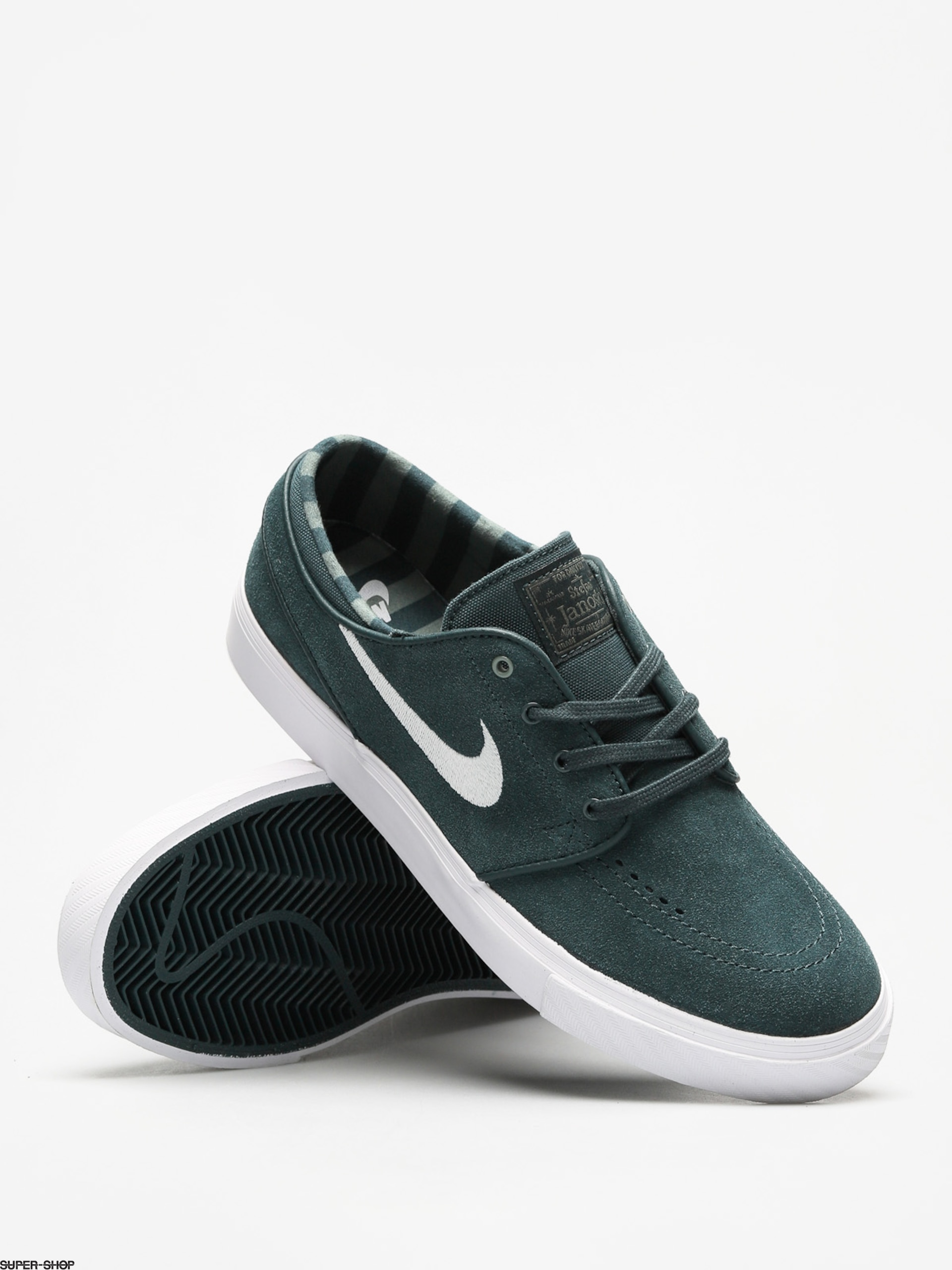 ce7ce076df97 Nike SB Shoes Zoom Stefan Janoski (deep jungle white clay green white)