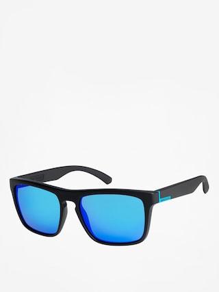 Quiksilver Sunglasses The Ferris (blk mat/blu ch)